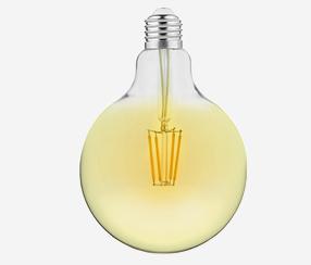 Antiiki -LED filament lamppu 125mm, 1250lm