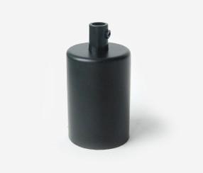 Small metal lamp,black
