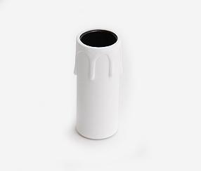 Candle  lampholder,  white E14