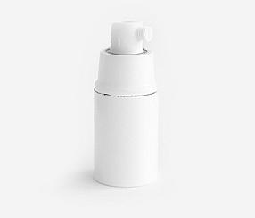 Bakeliitlampunpidin , valkoinen E14
