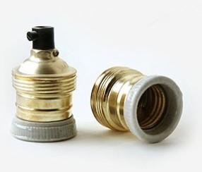 Keraamiline -metall väike pirnipesa E27