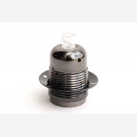 Shade ring for  tark chrome lampholder with threads E27