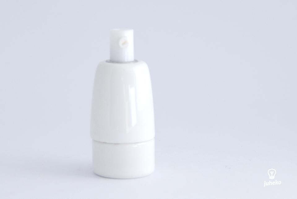 Porcelain bulb holder, E14