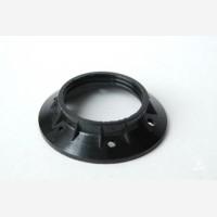 Shade ring for bakelite lampholders, E27, Black Wide