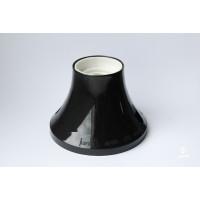 Bulb holder E27 for ceiling/ wall, black