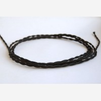 "Twisted cable ""Black"", 3x1,5mm2"