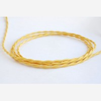 """Twisted cable """"Yellow"""""""