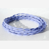 """Twisted cable """"Pastel purple"""""""