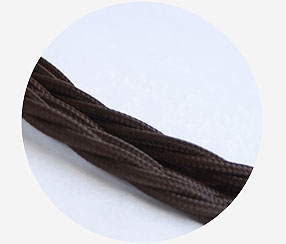 "Twisted cable ""Brown"" 3x1,5mm2"