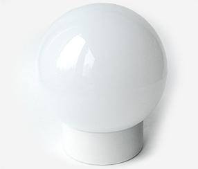 Valgusti Classic globe 180 mm Valge