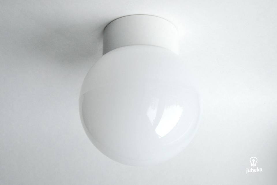 Classic globe white Wall/ Ceiling Light
