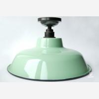 Enamel ceiling lamp TLN, green