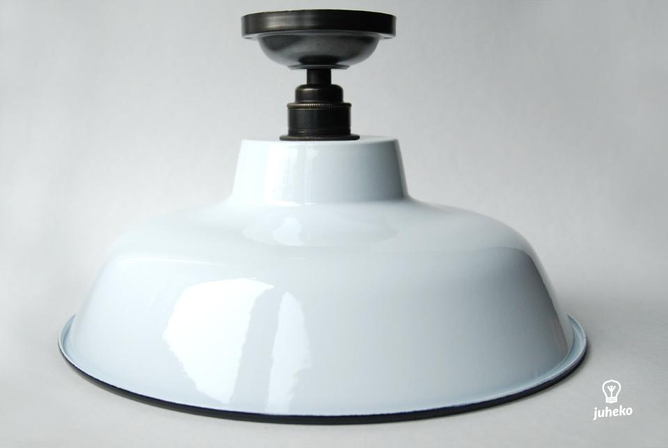 Enamel ceiling lamp TLN,  white