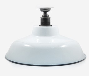 Enamel ceiling lamp TLN,  white