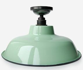 Emailitud laelamp TLN, roheline. Juheko disain, toodetud Ungaris