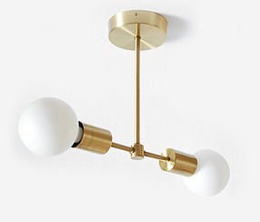 Juheko Deko  Ceiling Light, two