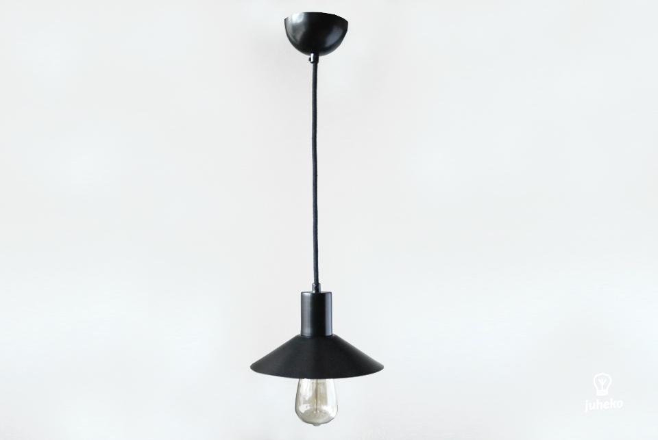 Pendant lamp EW metal, black