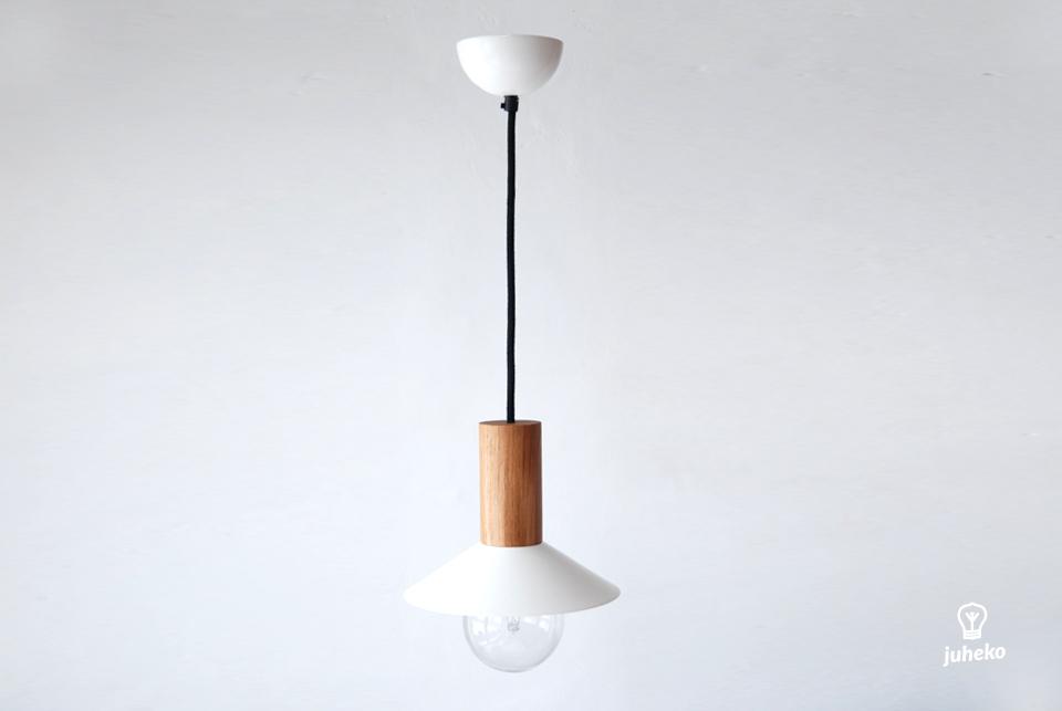 Pendant lamp EW Elba, white