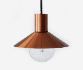 Pendant lamp EW-metal, copper