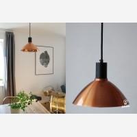 Pendant lamp Charlote, copper