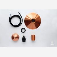 Pendant lamp EW-metal, copper