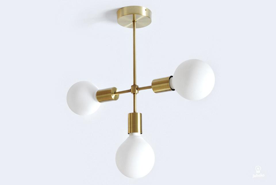 Juheko Deko Tubular Brass Light No.3