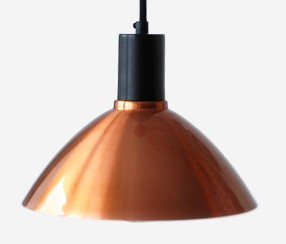 Pendant lamp Charlote, copper