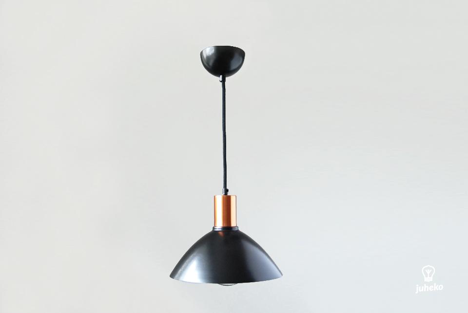 Pendant lamp Charlote, black