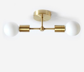 Juheko Deko  Ceiling Light, two , flat
