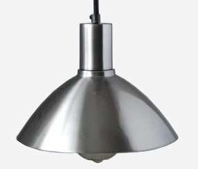 Pendant lamp Charlote, laquered metal