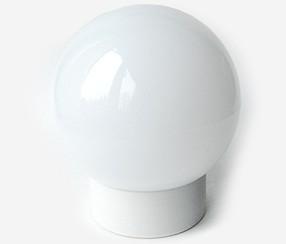 Seinä- / kattovalaisin Classic globe, valkoinen