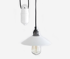 Rise 'n fall pendant light  EW,  white