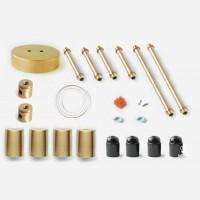 Juheko Deko Tubular Brass Light No.4x2 tubes